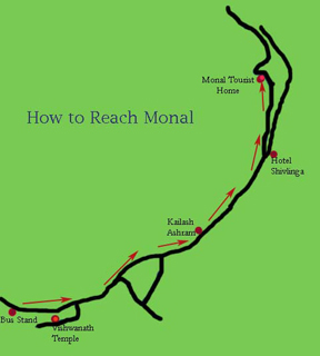 monal-map how to reach